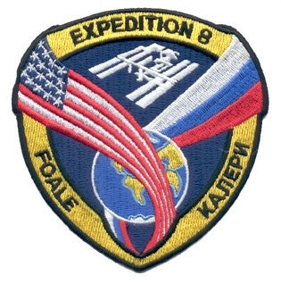 Expedition 8 Mission Patch - The Space Store