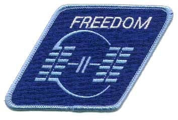 Space Station Freedom Patch - The Space Store