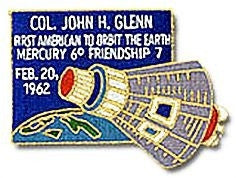 First American To Orbit The Earth Patch - The Space Store