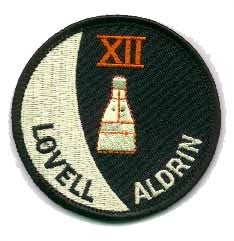 Gemini 12 Mission Patch - The Space Store
