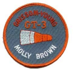 Gemini 3 Mission Patch - The Space Store