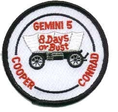Gemini 5 Mission Patch