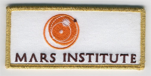 Mars Institute Logo Patch