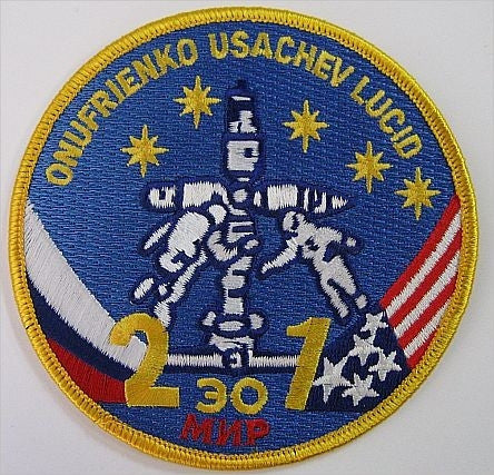 MIR 21 Primary Crew Mission Patch - The Space Store