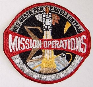 Mission Operations Patch - The Space Store