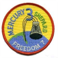 Mercury 3 Mission Patch