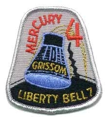 Mercury 4 Mission Patch - The Space Store