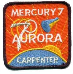 Mercury 7 Mission Patch