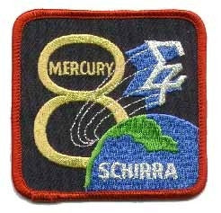 Mercury 8 Mission Patch - The Space Store