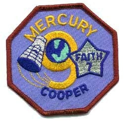 Mercury 9 Mission Patch - The Space Store