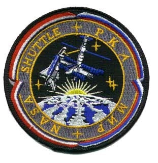 Shuttle Mir Program Patch