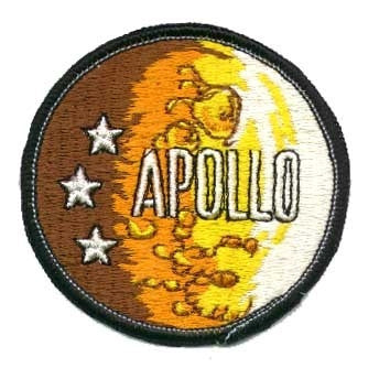 Apollo Moonscape Patch - The Space Store