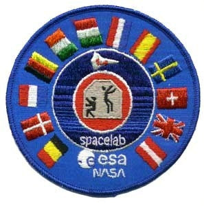NASA ESA Program Patch