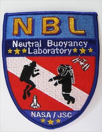 Neutral Buoyancy Laboratory Patch - The Space Store