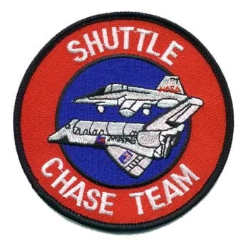Shuttle Chase Team Patch - The Space Store
