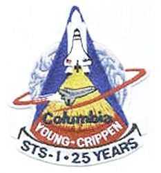 Space Shuttle 25th Anniversary Patch