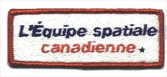 Space Team Canada French Patch