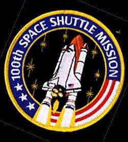 100th' Space Shuttle Mission Commemorative - Patch - The Space Store