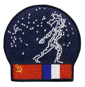 Starman Russian Patch