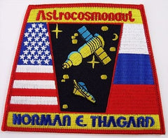 Astrocosmonaut Thagard Mission Patch