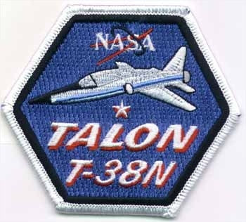 NASA Talon T-38N Patch - The Space Store