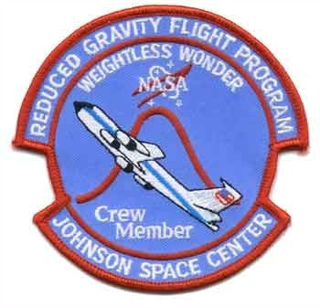 Weightless Wonder Crew Member Patch - The Space Store