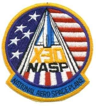X-30 Program Patch - The Space Store