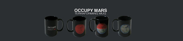 OCCUPY MARS HEAT SENSITIVE 'TERRAFORMING' MUG - The Space Store