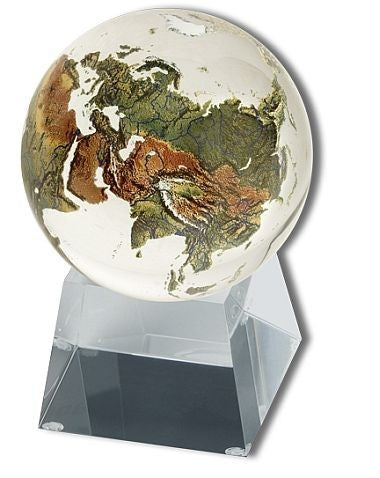 Amazing Crystal Globe - Clear Crystal Sphere - The Space Store