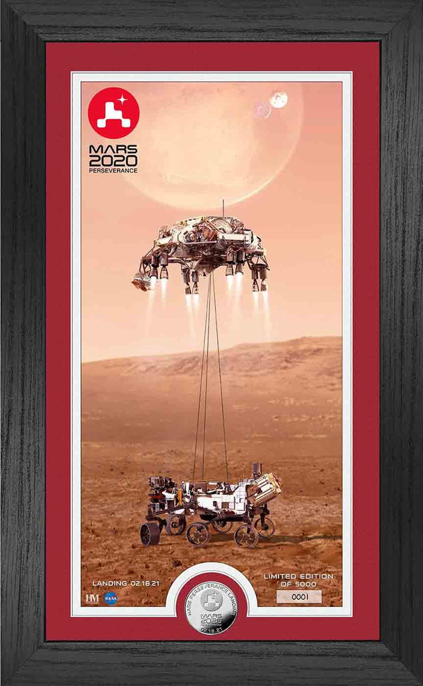 NASA's Mars Perseverance Rover Limited-Edition Frame