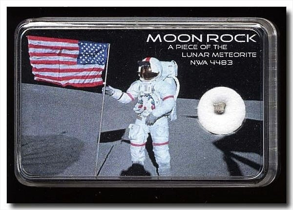 Lunar Meteorite NWA 4483 MOONROCK - Lunar Rock - The Space Store