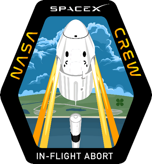 SPACEX In Flight Abort Test Patch - The Space Store