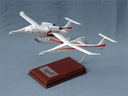 SpaceShipOne with White Knight Desktop Replica - Model - The Space Store