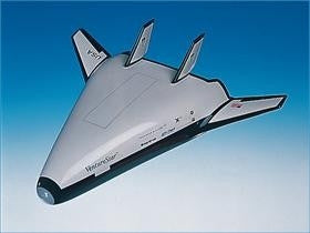 X-33 Venture Star Lockheed-Martin Model
