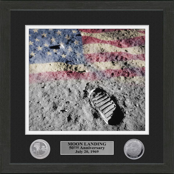 MOON LANDING 50th ANNIVERSARY FRAME - The Space Store