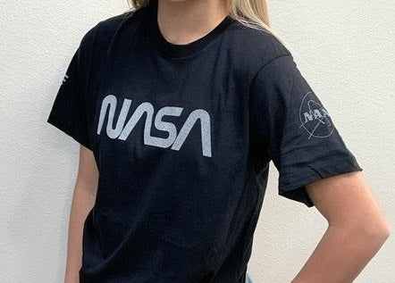 NASA Logo Reflective Short Sleeve Tee