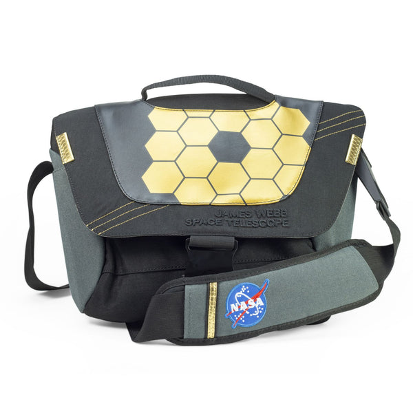 NASA James Webb Space Telescope Courier Bag - The Space Store