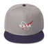 NASA Vector Logo Cap - 2 Tone Color - The Space Store