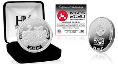 Mars Perseverance Limited Edition Sculptured Silver Plated Coin