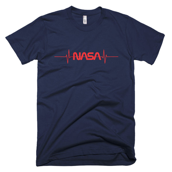 NASA 'PULSE' T-SHIRT (adult / black / navy / grey)