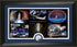 Space Shuttle Frame with the 5 Shuttle Montages with Space Shuttle Coin - The Space Store