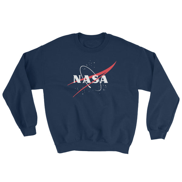 NASA 'VECTOR LOGO'  SWEATSHIRT - The Space Store