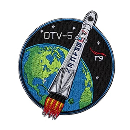 SPACEX OTV 5 MISSION PATCH