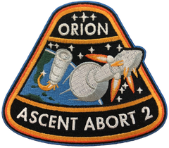 ORION AA-2   ORION ASCENT ABORT 2 MISSION PATCH