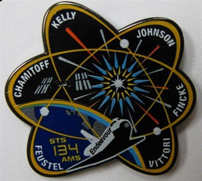 STS-134 Mission Lapel Pin