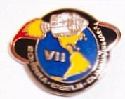 Apollo 7 Mission Lapel Pin - The Space Store