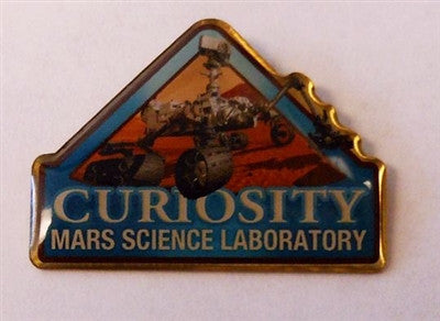 Mars Curiosity Lapel Pin - The Space Store