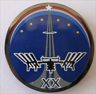 Expedition 20 Lapel Pin - The Space Store