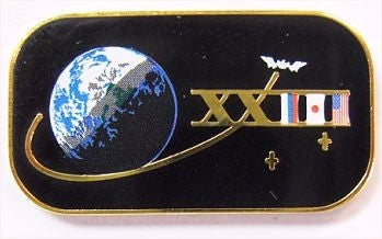 Expedition 23 Mission Lapel Pin
