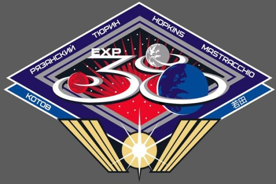 Expedition 38 Mission Lapel Pin